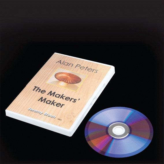 ALAN PETERS, THE MAKERS MAKER DVD BY JEREMY BROUN