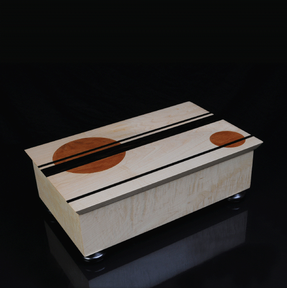 COLLECTORS JEWELLERY BOX